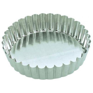 Picture of Fluted Cake Pan With Loose Base 180mm