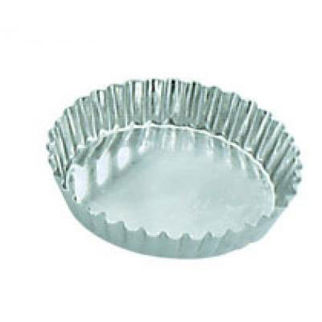 Picture of Fluted Tart Mould 36 Ribs Solid Base 105mm