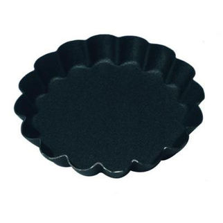 Picture of Fluted Tartlet Mould 16 Ribs Solid Base 80mm