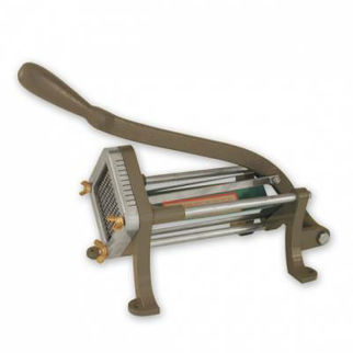 Picture of French Fry Cutter Machine cutting frame and block 3/8