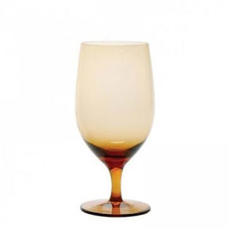 Picture of Gala Amber Goblet 443ml