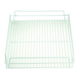Picture of Glass Basket 17x14inch white