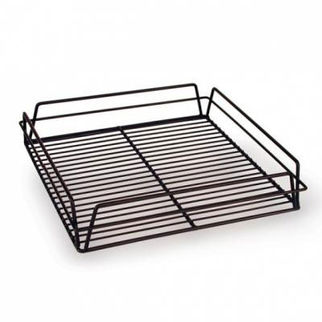 Picture of Glass Basket 355x355mm Pvc  Black