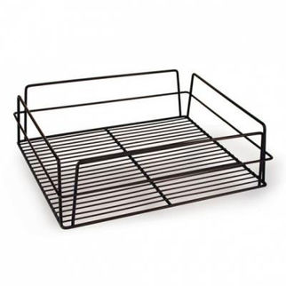Picture of Glass Basket 435x355x125mm Pvc White