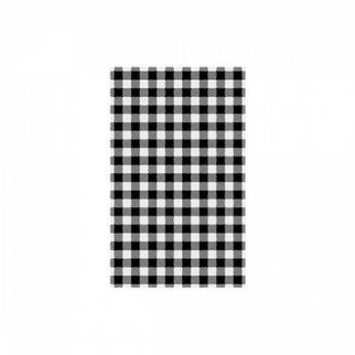 Picture of Greaseproof Paper Black Check