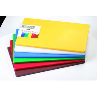Picture of Haccp Gastronorm Polyethylene 20mm Cutting Board Yellow