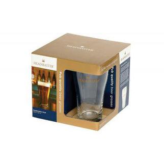 Picture of Headmaster Conical Schooner Glass 425ml Set Of 4