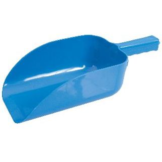 Picture of Ice Scoop Plastic Flat Bottom 1900ml Blue