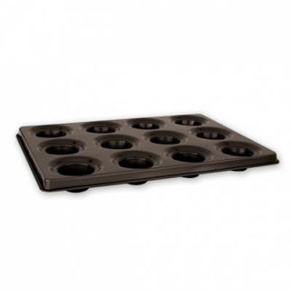 Picture of Jumbo Muffin Pan 12 Cup Non Stick 525mm
