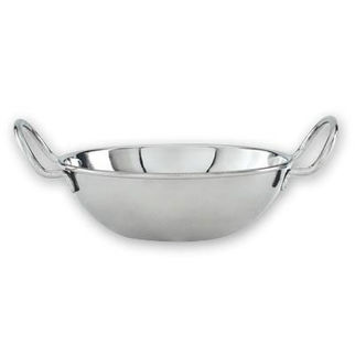 Picture of Kadai Bowl Mini Wok Stainless Steel 140mm