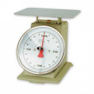 Picture of Kitchen Scale 1kg 3kg  grey enamel up to 3kg.  with platform