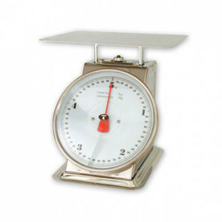 Picture of Kitchen Scales Stainless Steel Body up to 10kg.  with ingredient bowl.