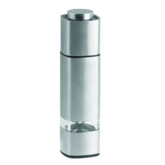 Picture of Leto Pepper Mill Square Stainless Steel Ceramic Gear