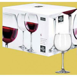 Picture of Libbey Vina Round Wine Set Of 6 539ml