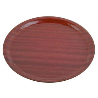Picture of Mahogany Round Wooden Tray 370mm
