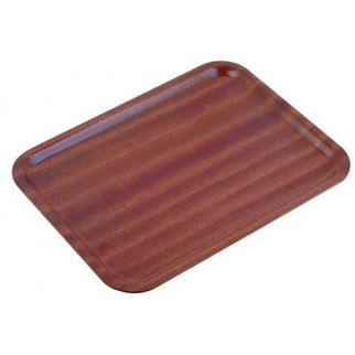 Picture of Mahogany Wooden Tray 550mm
