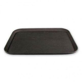 Picture of Non Slip Rectangle Tray  black