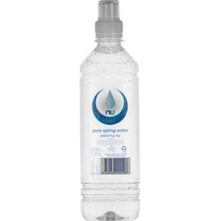 dc9a1ca7c4 Picture of Nu Pure 600ml Pop Top Bottled Spring Water 600ml