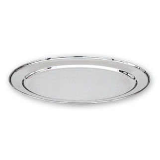 Picture of Oval Platter Stainless Steel Heavy Duty 350mm