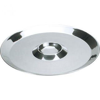 Picture of Oyster Plate Stainless Steel 250mm 10