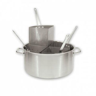 Picture of Pasta Cooker Set 5pc With 18 10 Pot 20lt