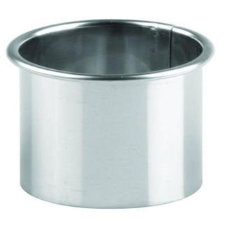 Picture of Plain Biscuit Cutters Stainless Steel 63mm (14/7)