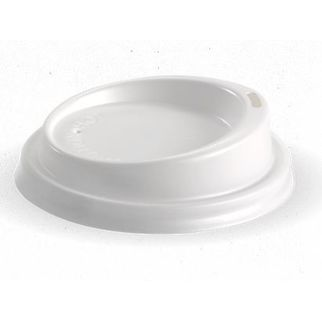 Picture of BioCup 80mm PS Small Lid in White
