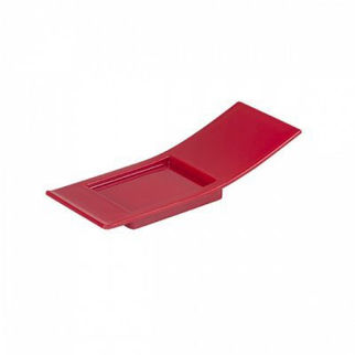 Picture of Plastic Japanese Spoon Red