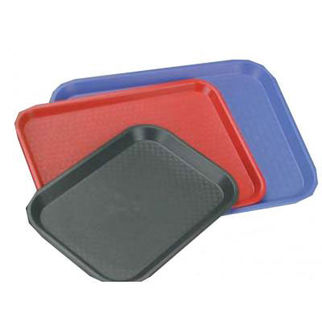Picture of Plastic Tray 275x350mm Polypropylene  Red