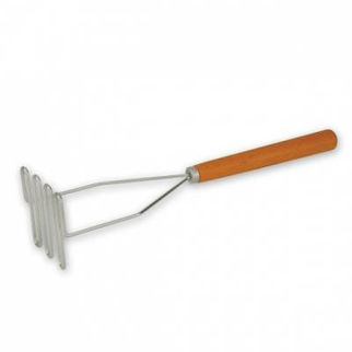 Picture of Potato Masher Heavy Duty With Wood Handle 360mm