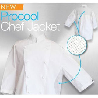 Picture of Procool Chef Jacket Short Sleeve M