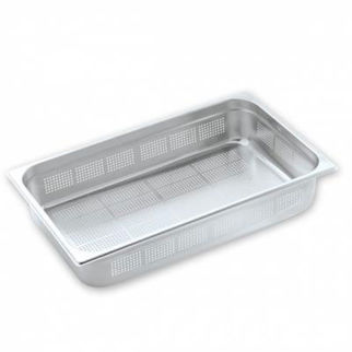 Picture of Pujadas Gastronorm Pan 1/1 Size Perforated 200mm