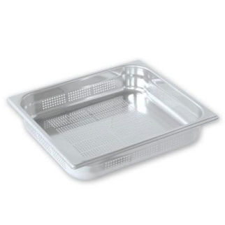 Picture of Pujadas Gastronorm Pan 2 3 Size Perforated 200mm