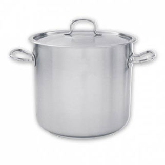 Picture of Pujadas Stockpot 18 10 With Cover 50000ml