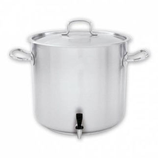 Picture of Pujadas Stockpot 18/10 With Cover And Tap 72000ml