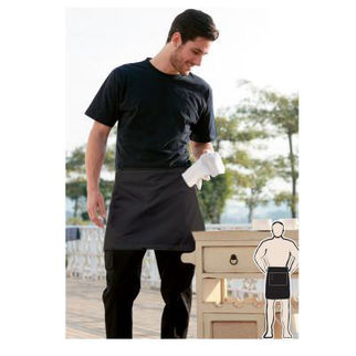Picture of Pv Quarter Apron Without Pocket Black