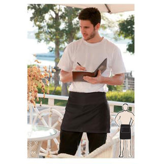 Picture of Quarter Apron With Pocket White