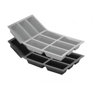 Picture of Rectangular 9 Compartment Silicone Mould