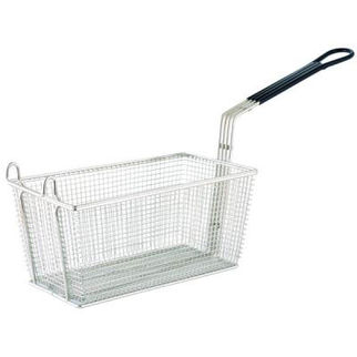 Picture of Rectangular Chrome Plated Frying Basket 350x138x150mm