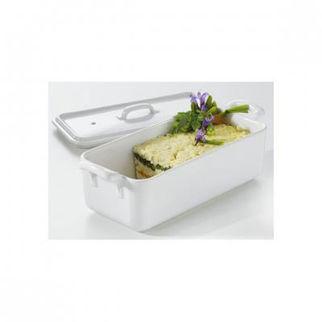 Picture of Revol Belle Cuisine Rectangular Terrine White White 400ml