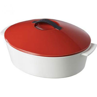 Picture of Revol Revolution Oval Casserole With Lid Blue