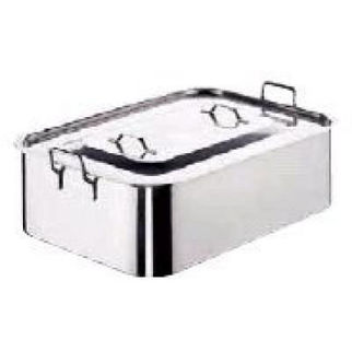Picture of Roast Pan 18 10 600x350x150mm W Lid Paderno