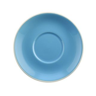 Picture of Rockingham Cappuccino Saucer Sky Blue