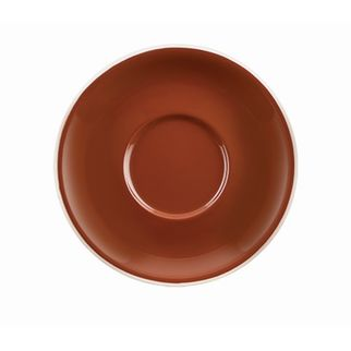 Picture of Rockingham Cappuccino Saucer Brown
