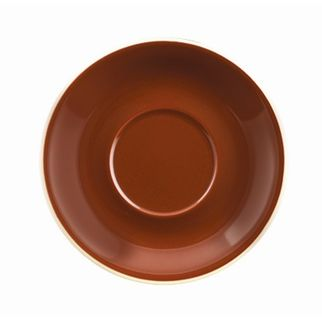 Picture of Rockingham Latte or Megaccino Saucer Brown