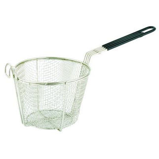 Picture of Round Chrome Plated Frying Basket 150mm 200mm