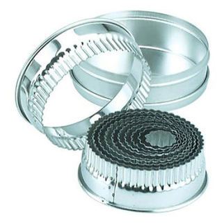 Picture of Round Crinkled Cutters 11pc 25-95mm