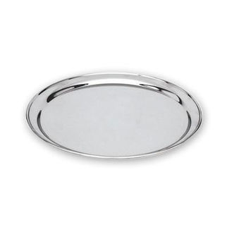 Picture of Round Tray 18/8 Stainless Steel 400mm