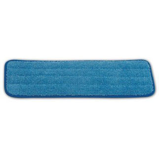 Picture of Rubbermaid Hygen Microfibre Damp Room Pad Blue