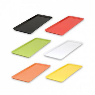 Picture of Ryner Melamine Sandwich Plate 390x150mm  lime